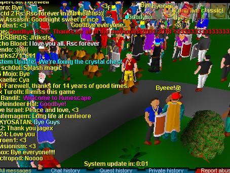 RuneScape Classic has finally shut down