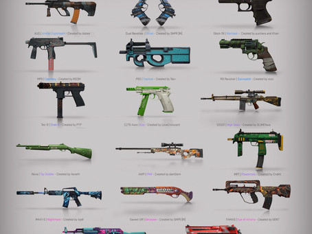 CS:GO's latest update and it's raining weapon skins!