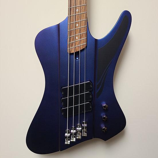 Dingwall D-Roc Standard 4-string - Matte Blue to Purple Colorshift