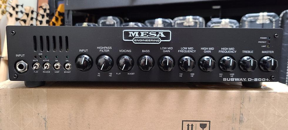 Mesa Subway D-800+ bass guitar amplifier