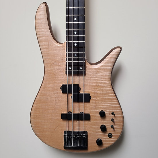 1986 Fodera  Monarch Deluxe with EMG pickups and HAZLab preamp!