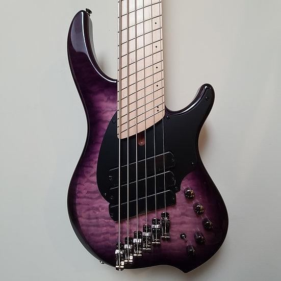 Dingwall Combustion 6 - Ultra Violet w/Maple Fretboard