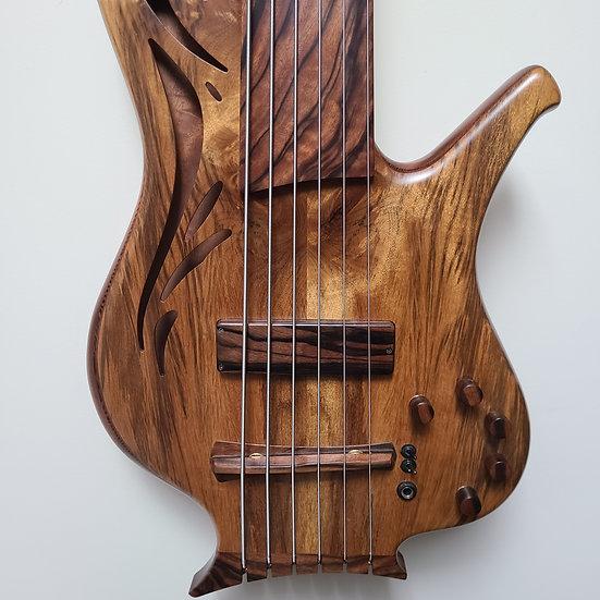 "Kenneth Lawrence Chamberbrase I 35"" 6-string Fretless"