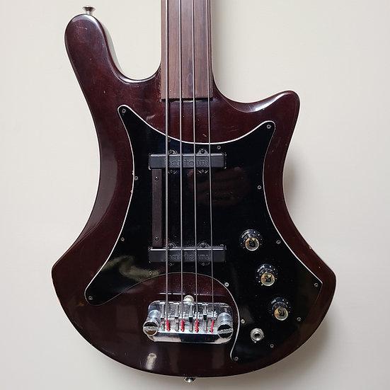 1970's Guild B301F Fretless 4-string