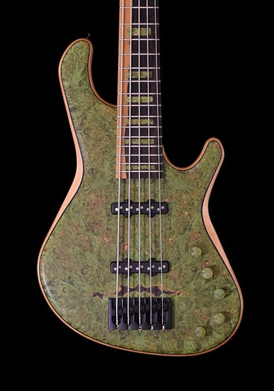 Adamovic Soul 5 - Forest Green Burl