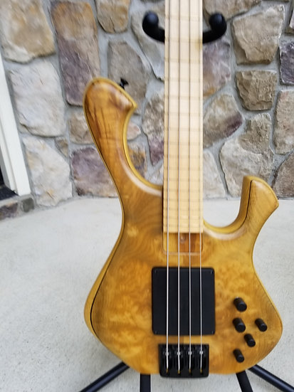 2018 Skjold Slayer Exotic Series 4-string