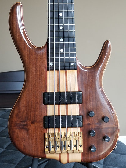 1997 Ken Smith BSR6EG Black Tiger 6-string