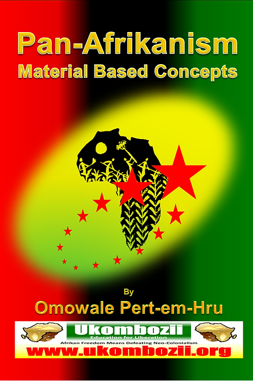 Pan-Afrikanism: Material Based Concepts