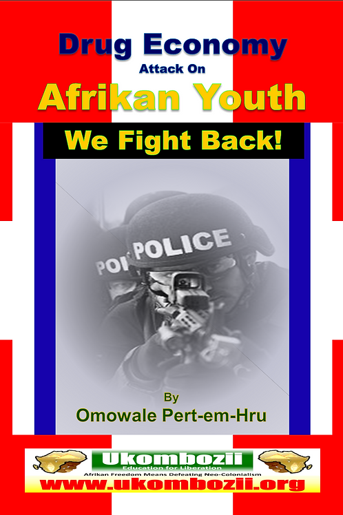 Drug Economy Attack on Afrikan Youth! We Fight Back!