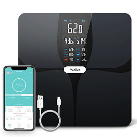 Digital Body Composition Scale with HA screen