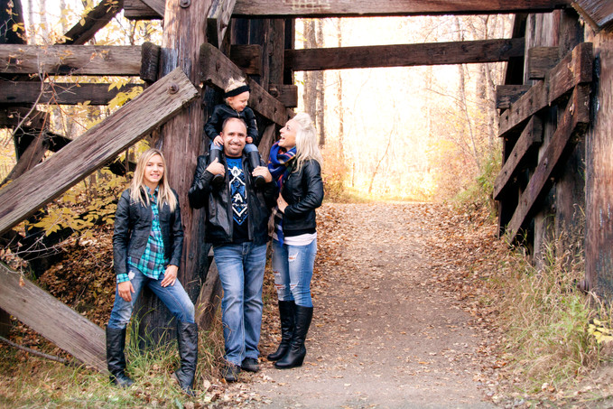Fall Family Session, Langworthy Park, Fort Saskatchewan
