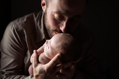 Newborn Session, In-Home
