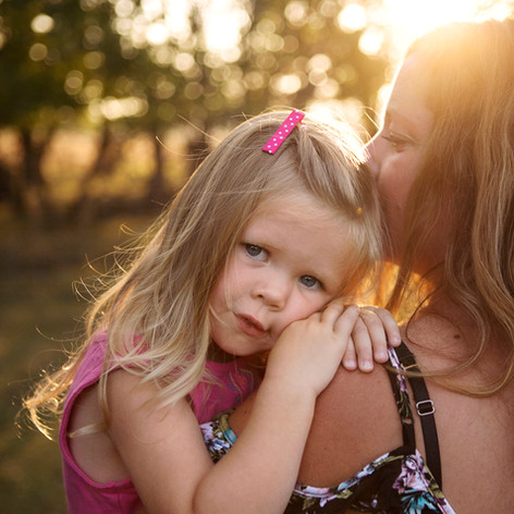 Family Session, Mother and Daughter