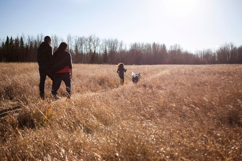 Family Session, Wagner Natural Area