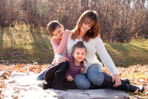 Family Photo Session, Mother and Daughters