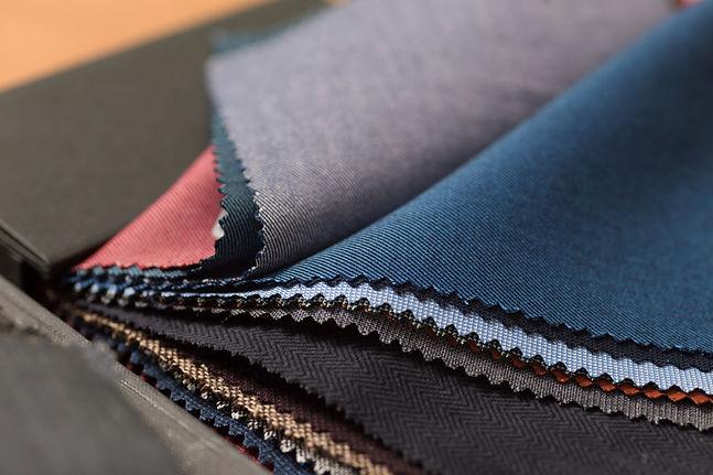 custom suit fabric books