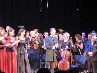 Концерт Национального симфонического оркестра и Государственной академической хоровой капеллы России