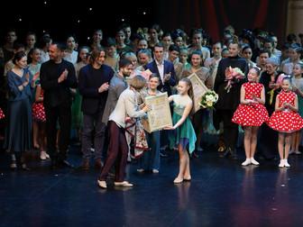 Ансамбль эстрадно-спортивного танца «Виктория » получил Золотой диплом конкурса «Лучший коллектив Ро