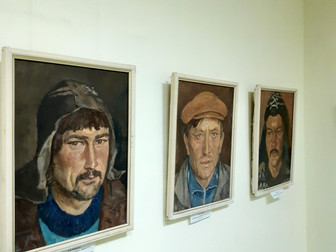 Выставка портрета «Лицом к будущему» в «Мирасе».