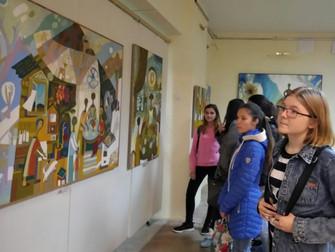 Творческая встреча с заслуженным художником РБ, членом Союза художников России, графиком, живописцем