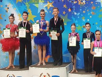 Воспитанники ансамбля спортивного танца «Арт-Данс-Созвездие» г. Нефтекамск стали призерами по танцев