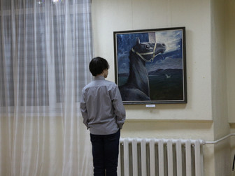 Памятная выставка НАСЫРОВА Юнера Ярулловича «Улетая в облака» в «Мирасе»