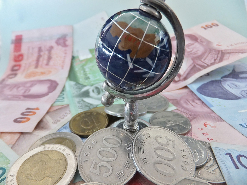 世界のお金 分散投資