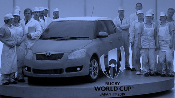 Give the underdog a bone – what challenger brands can learn from Japan's rugby team and Skoda