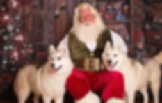 Even your favorite pets LOVE time with SantaDerek!