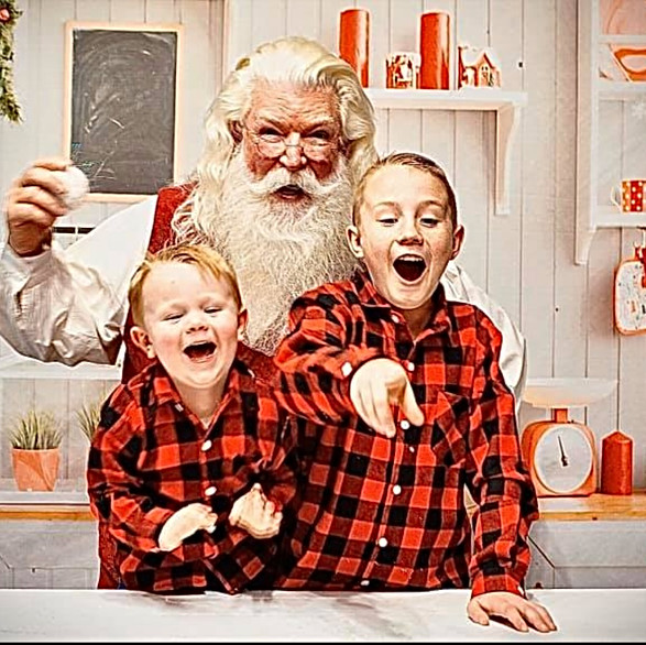 Cooking up laughter with SantaDerek!