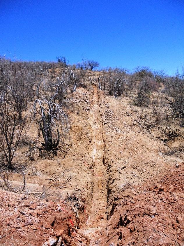 San Ricardo Colorado Trench 5