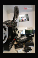 Super 8 Projector and Tapes