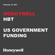Honeywell US Gov Funding