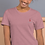 Thumbnail: Short-Sleeve Unisex Embroidered T-Shirt
