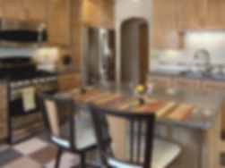Interior, Design, Remodel, Kitchen, Maple, Marmoleum