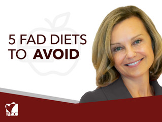 5 Fad Diets to Avoid