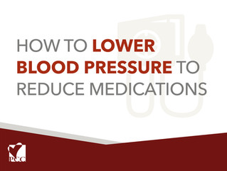 How to Lower Blood Pressure to Reduce Medications