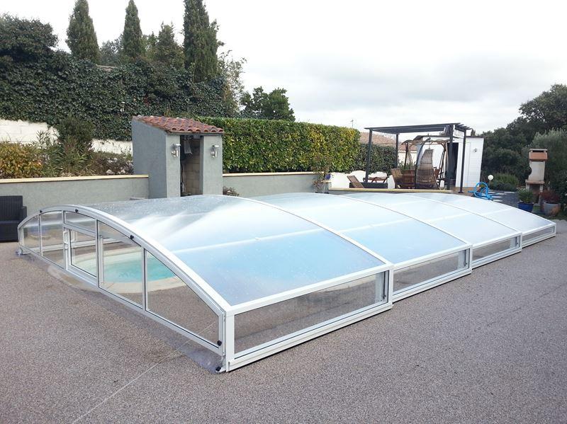Abri de piscine plat pas cher h rault - Abris de piscine pas cher ...