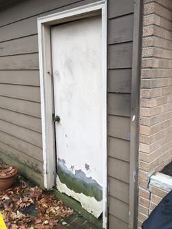 Before Door replacement