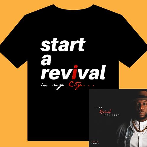 Revival T-Shirt/CD Combo