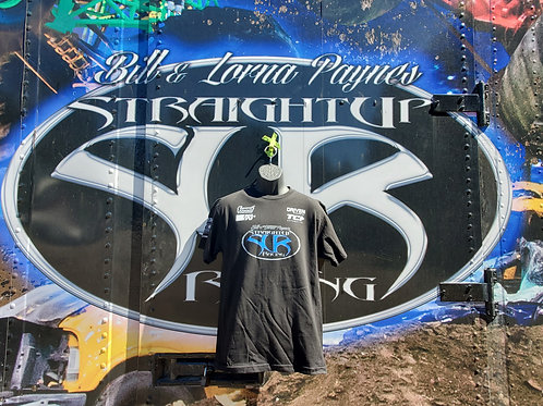 SUR Team T-Shirt Black with Blue Logo