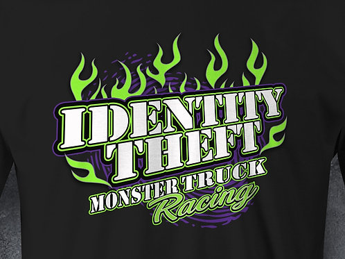 Identity Theft Long Sleeve Black