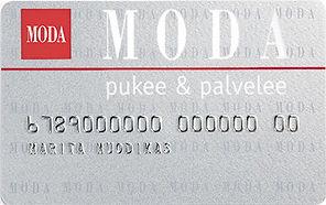 Moda kanta-asiakaskortti