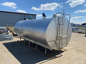 Mueller 3000 gallon bulk tank
