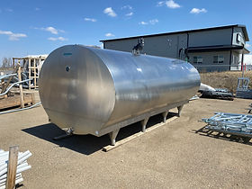 Mueller 2000 gallon bulk tank