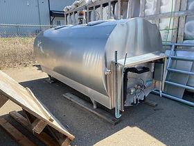 Mueller 700 gallon bulk tank