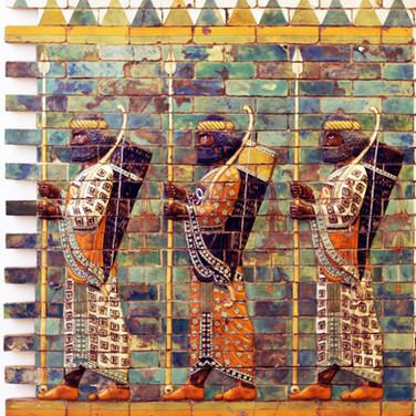 Prozessionsstraße von Babylon aus der Zeit Nebukadnezars II. (Detail)