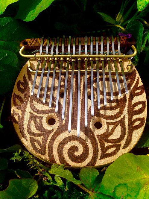・Bunカリンバ・親指ピアノ・The soul of the tree「生命の樹」