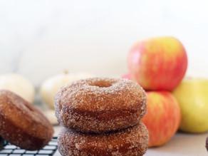 Mega Kiwi Apple Cider Donuts