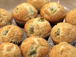 Mega Kiwi Muffins